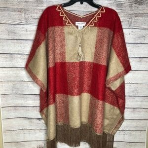 Adam Lippes For Target Poncho Size S/M